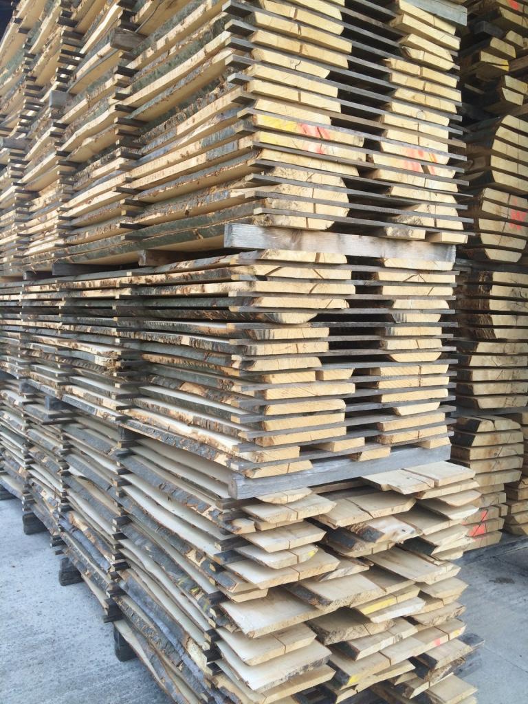 Buchenschnittholz